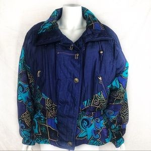EUC-Vintage Bohemian East West jacket GoldHardware